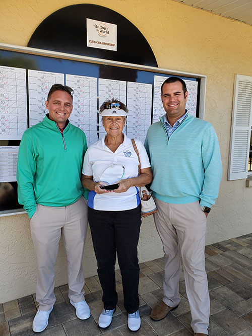 Gretchen Normandin OTOW Golf Club Champion On Top of the World Communities Ocala, FL