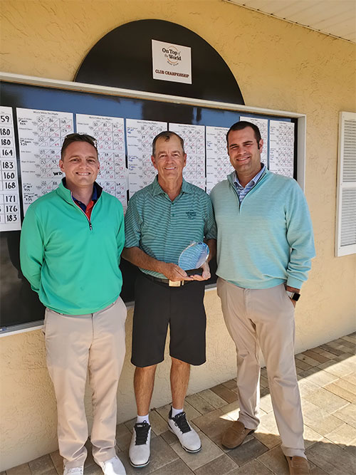 Joe Wilks OTOW Golf Club Champion On Top of the World Communities, Ocala, FL