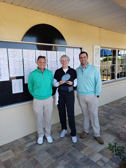 Robbie Limoges Otow Golf Club 9 HOle Champion On Top of the World Communities Ocala, FL